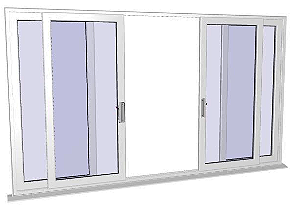 4 Panel Patio Doors