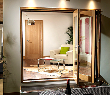 The solution: Bi-fold Doors