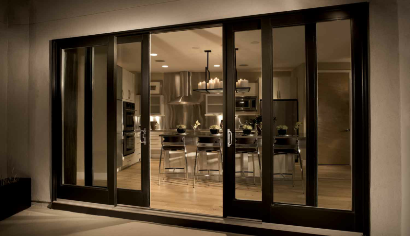 French patio doors upvc patio doors for Outside sliding glass doors