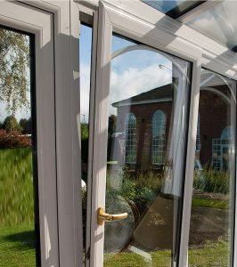 double glazed white tilt & turn window