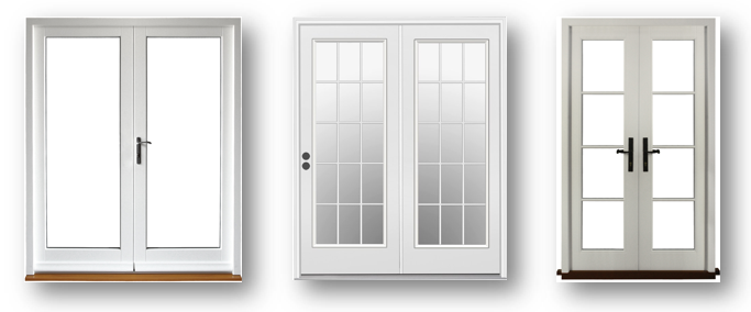 Double Glazed UPVC French Doors