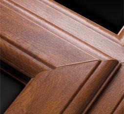 woodgrain UPVC Doors