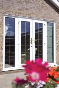 UPVC Frecnch Door With Side Panels