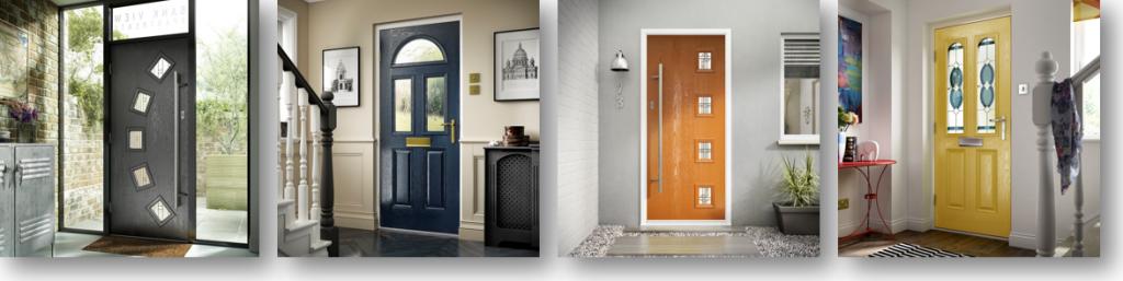 Double Glazed Doors - Front Doors